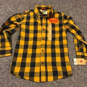 BNWT Boy's Sz Small Urban Pipeline Plaid Shirt